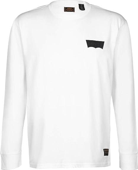 c06a2fd3c Levi's Skateboarding Graphic T-Shirt Manches Longues: Amazon.fr ...
