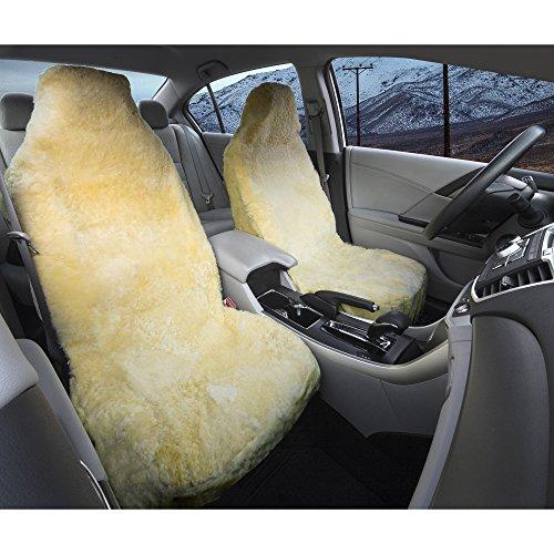 Masque 63813 Tan Sheepskin Seat Cover Durable Modeling