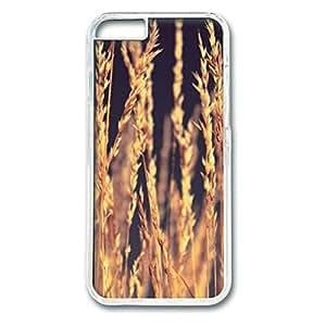 Sunset Personalized Design PC Transparent Case for Iphone 6 Yellow wangjiang maoyi