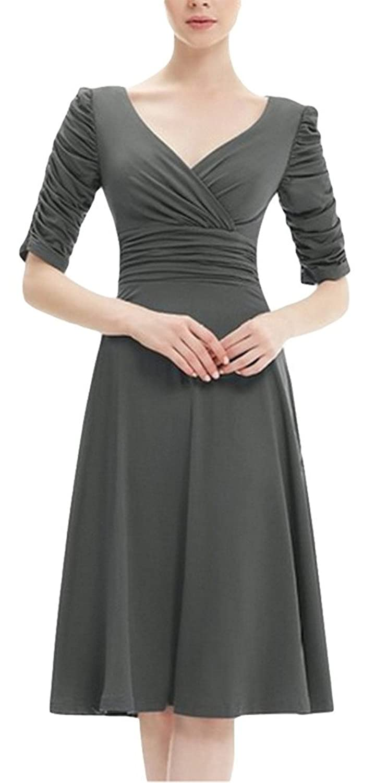 EOZY Damen Sommerkleid Faltenrock Mini Partykleid kaufen