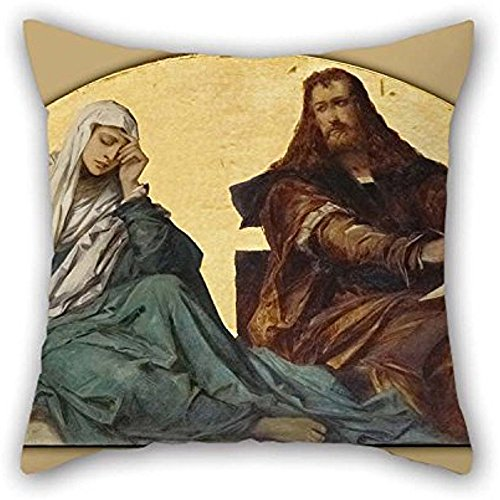 nting Hans Makart - Albrecht D??rer Throw Pillow Covers Of 18 X 18 Inches/45 By 45 Cm Decoration Gift For Home Theater Floor Christmas Girls Him Lounge (two Sides) (Albrecht D ? Rer Painting)