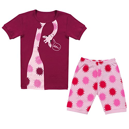 Tkala Fashion Christmas Girls Pajamas Children Clothes Set 100% Cotton Little Kids Pjs Sleepwear