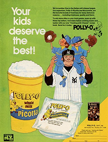 (Vintage Polly-O Mozzarella Ad-