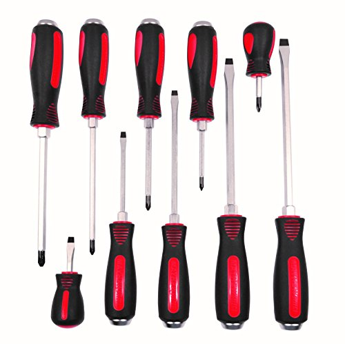 (Mayhew Select 66306 Cats Paw Screwdriver Set, 10-Piece)
