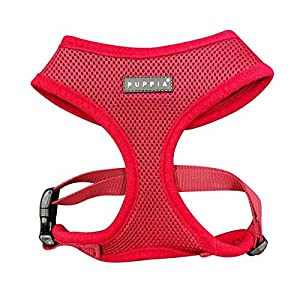 Puppia PDCF-AC30-WN-XXL Soft Harness, XX-Large, Wine