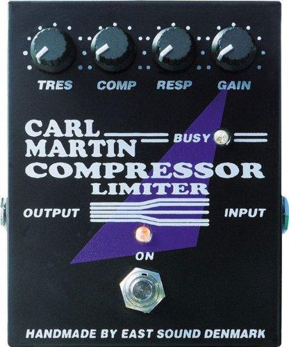 Carl Martin Compressor Limiter Stompbox Effect Pedal w/ 2x 6