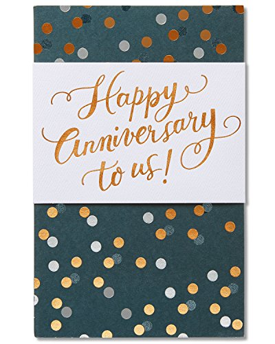 American Greetings It Was Love Anniversary Card with Foil