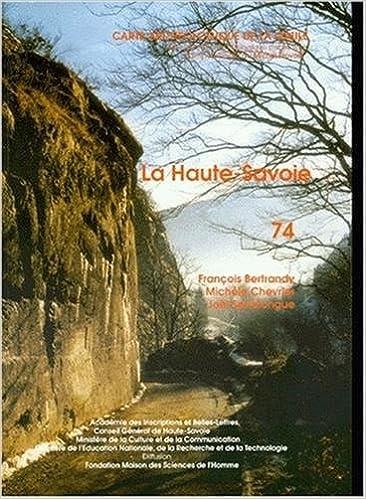 Amazonfr Carte Archéologique De La Gaule 74 Haute