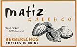canned seafood - Matiz Gallego Berberechos in Brine, 4 Ounce