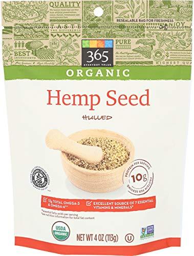 365 Everyday Value, Organic Hulled Hemp Seed, 4 oz