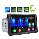 JOYING Car Stereo 8 inch PX5 Octa-Core 2GB RAM 32GB ROM Double Din Universal Car radio with Bluetooth Music & Sleep Mode Function - Support iPhone Zlink & Screen Mirroring (8 inch Double Din)