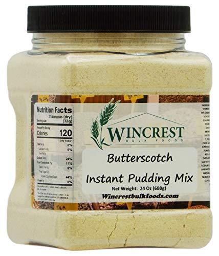 Butterscotch Instant Pudding Mix - 1.5 Lb - Base Butterscotch