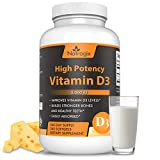 Vitamin D3 5000 IU by Natrogix, 360 Day Supply, Activate the Immune Systems, Promot Health Bones and Teeth
