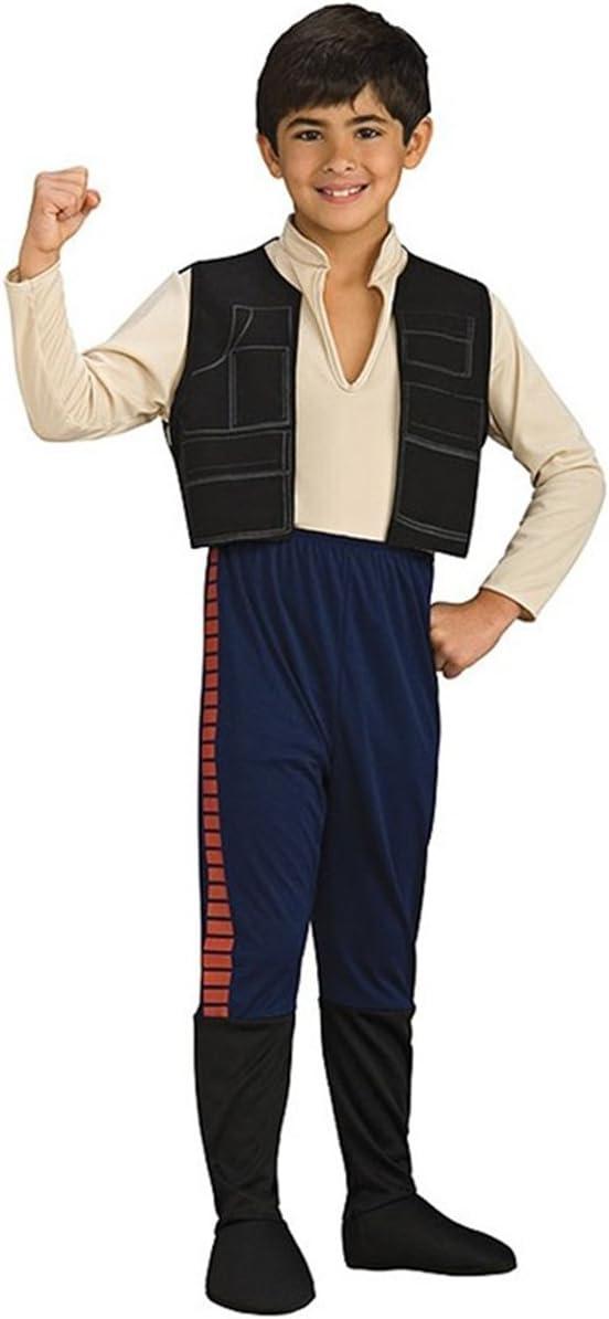 Disfraz de Han Solo para niño - 3-4 años: Amazon.es: Juguetes y juegos