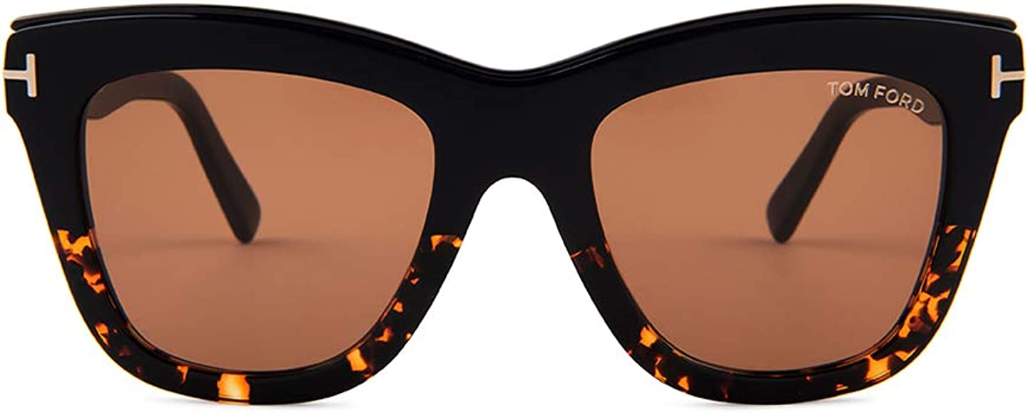 Amazon.com: Gafas de sol Tom Ford FT 0685 Julie 05E negro ...