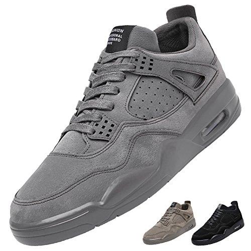 sports shoes c9ea1 b4022 Männer Straße Laufschuhe Leichte Luftpolster Trail Running Sportschuhe  Outdoor Fashion Sneakers Schuh Grau