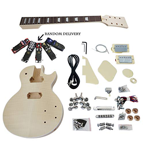 Custom DIY LP style Electric Guitar Kits