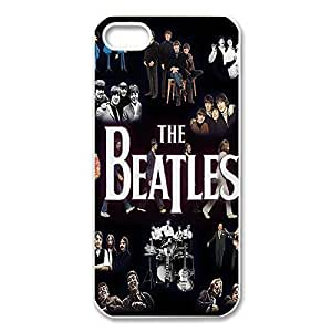 Cool Design Band The Beatles Printed Hard Plastic Case Shell Cover for iPhone 5s/iPhone 5 _White 30310