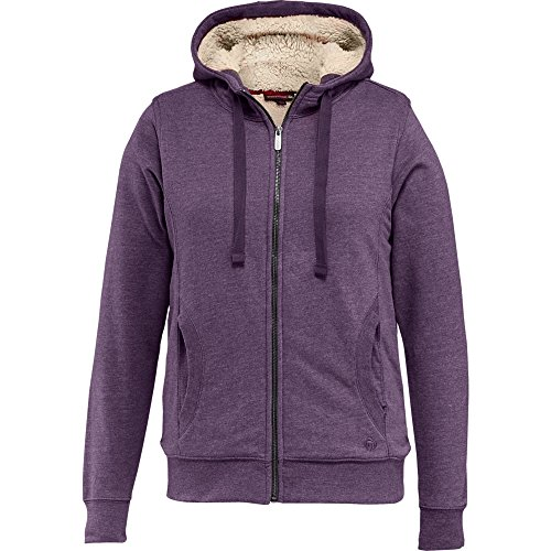 Wolverine Women's Willow Sherpa Lined Hoody, Eggplant Heather, Small (Women Hoodie Sherpa Lined)