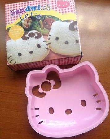 brownylife tienda - Hello Kitty Sandwich molde Pan Cake Mold Maker ...