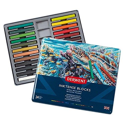 - Derwent Inktense Ink Blocks, 24 Count (2300443)