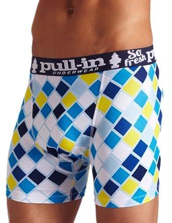 Pull-In Men's Fashion Fresque Short, Multi, Large