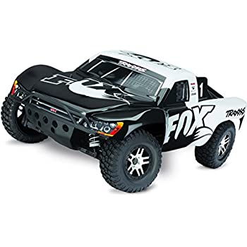 Traxxas 68086-4 Slash 4X4 1/10 Scale 4WD Short Course Truck with TQi 2.4GHz Radio and TSM Fox