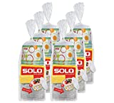 Solo Paper Snack Bowl with Lid, 60 Count