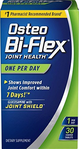 Osteo Bi-Flex One Per Day Glucosamine HCI & Vitamin D3 Caplets 30 CP - Buy Packs and SAVE (Pack of 3) Osteo Bi Flex Caplet Vitamins
