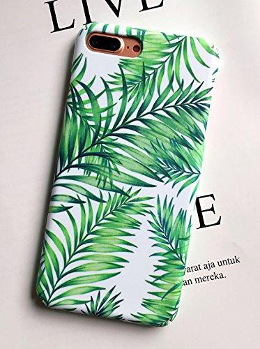 Dailylux iPhone 8 Plus Case, iPhone 7 Plus Case,Non-Slip Anti-Scratch Shock Proof Back Hard Protective Cover for iPhone 7 Plus/iPhone 8 Plus[5.5 inch]-Mint green (Summer Case)