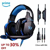 Best Gaming Headset For PC Mobile - Stereo Gaming Headset Yongf G2000 for PS4 XBOX Review