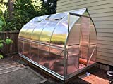 7x12 6-MM Twin-wall Polycarbonate Greenhouse, ClimaPod Spirit Complete kit