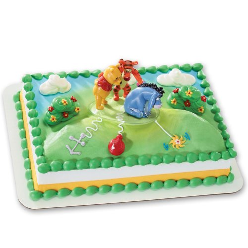 DecoPac New Tail for Eeyore DecoSet Cake Decoration