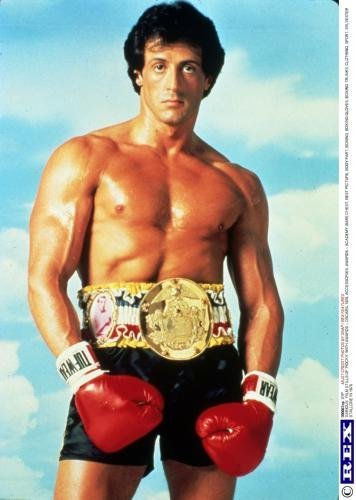 Rocky Movie Poster Sylvester Stallone 24in x36in
