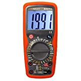 Triplett 9007-A High Performance Digital Multimeter with Temperature, Frequency and DATA Hold Function, 30 Measurement Ranges