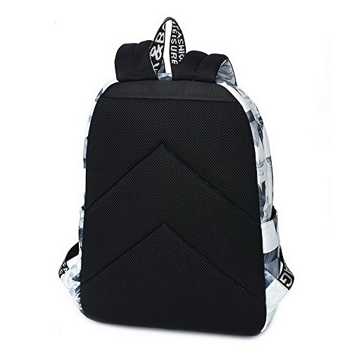 615 Print Waterproof White for Backpack School Bookbag Acmebon Girls Landscape Fashion and Lightweight Boys Cute Fox 1BqOdxwdCv