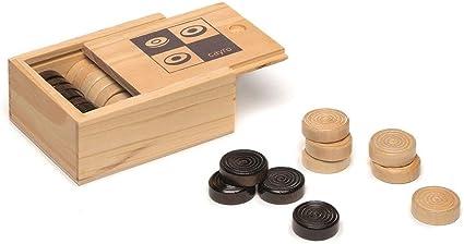 Cayro - Accesorios de Damas - Juego de Tradicional - Juego de Mesa - Desarrollo de Habilidades cognitivas - Juego de Mesa (617): Amazon.es: Juguetes y juegos