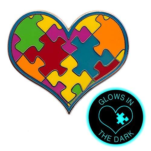 ILMS Autism Awareness Pin. 1-1/2