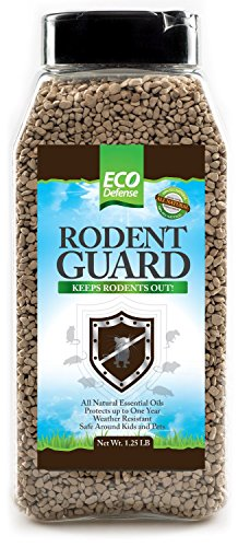 Eco Defense Mice Repellent Pellets - Mouse Trap Alternative - 100% Natural Essential Oils Blend - 1.25 LB -...