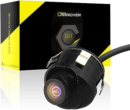 Oferta amazon: Car Rover Universal Retrovisor del Coche de la Cámara 360 Grados HD Ajustable en Color de Visión Nocturna para Estacionamiento Monitor DVD