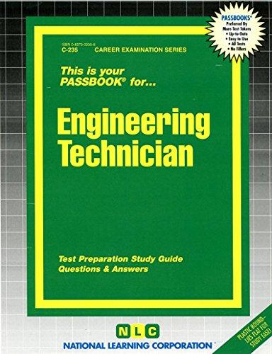 Engineering Technician Passbooks   Career Examination Series   C235