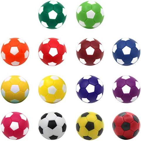 Gosear Bolas de futbolín, Bolas de Mesa de fútbol, 14 Unidades, 36 mm, Colores Surtidos, Pelotas de fútbol, Accesorios de Repuesto para niños, Adultos, Fiestas, reuniones Familiares: Amazon.es: Juguetes y juegos