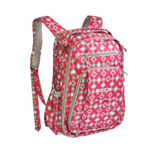Ju-Ju-Be 'Be Right Back' Backpack Diaper Bag - Pink Pinwheels