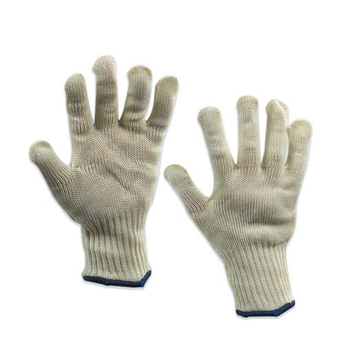 Whizard GLV1041M Knife Handler Gloves, Medium, Off White (Case of 4)