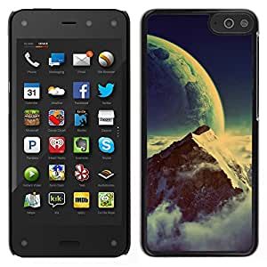 LECELL--Funda protectora / Cubierta / Piel For Amazon Fire Phone -- Space Mountain --