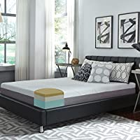 Slumber Solutions Choose Your Comfort 10-inch Full-size Memory Foam Mattress White Firm Firm