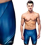 Swim Elite Men's Jammers – Quick-dry Swimsuit – Chlorine Resistant Swimming Suit for Men and Boys – Swim Pants – Light, Utra-thin & Breathable – Perfect Fit – Waterproof Carrying Case Included