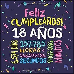 Feliz Cumpleaños - 18 Años: Un libro de visitas para fiesta ...