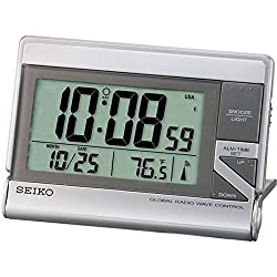 Seiko Digital LCD Clock QHR024S