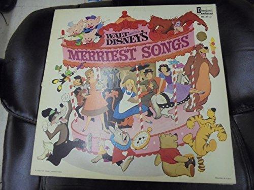 Walt Disney's Merriest Songs by Disneyland Records